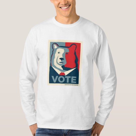 VOTE MensLong Sleeve Shirt