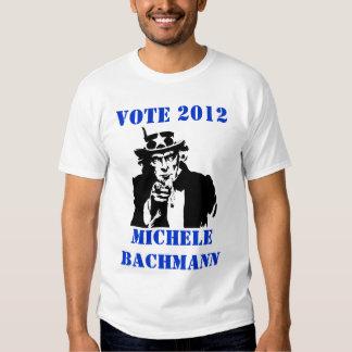 VOTE MICHELE BACHMANN 2012 TSHIRT