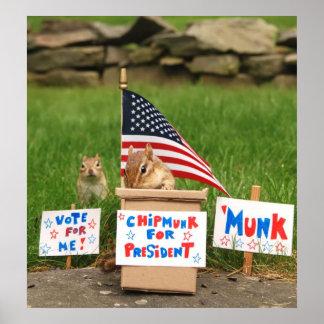 Vote 'Munk! Poster