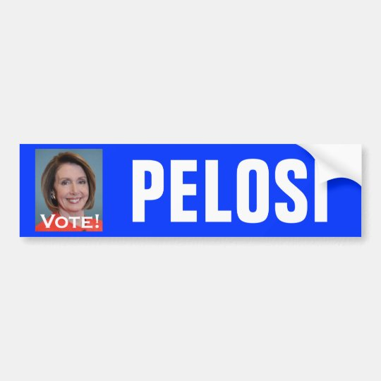 Vote Nancy Pelosi Bumper Sticker