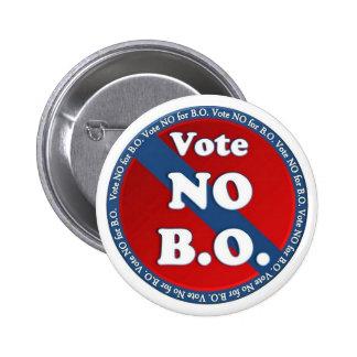 Vote No for B.O. 6 Cm Round Badge