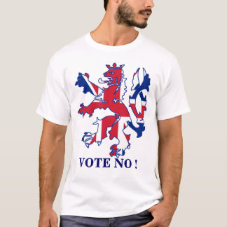 Vote No to Scottish independence T-Shirt
