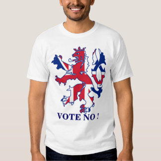 Vote No to Scottish independence Tshirts