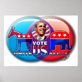 VOTE OBAMA '08 PRINT