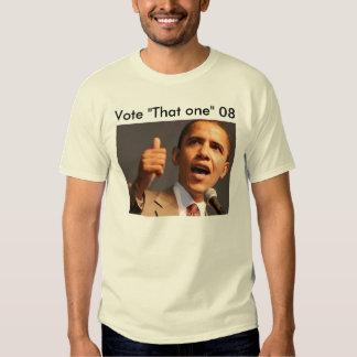Vote Obama 08 Tee Shirts