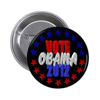 Vote Obama 2012 6 Cm Round Badge