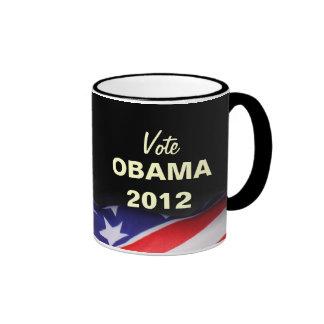 Vote OBAMA 2012 Campaign Mug