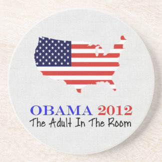 Vote Obama 2012 Beverage Coasters