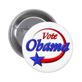 Vote Obama 2012 . Create the future 6 Cm Round Badge