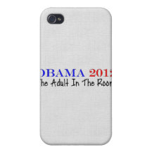 Vote Obama 2012 iPhone 4 Covers