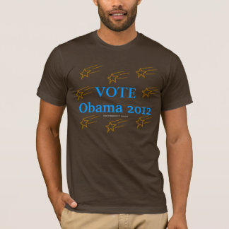 Vote Obama 2012 Stars in Action T-Shirt
