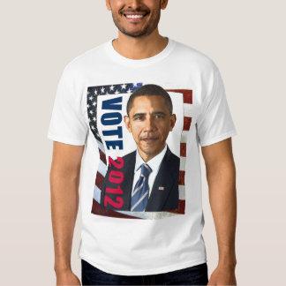 Vote Obama 2012 Tee Shirt