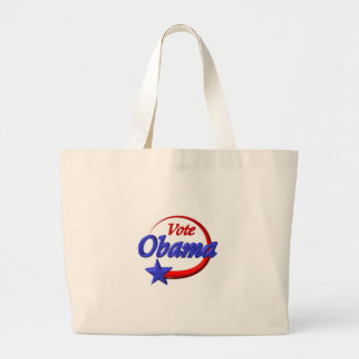 Vote Obama by Valxart.com Tote Bags