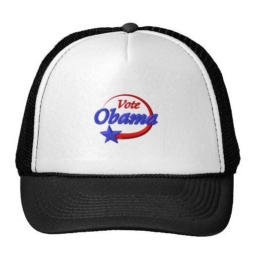 Vote Obama by Valxart.com Mesh Hat