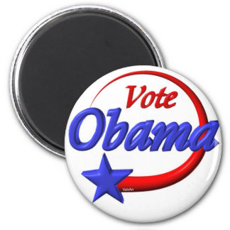Vote Obama by Valxart com Refrigerator Magnet