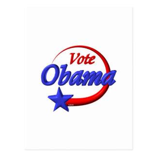 Vote Obama by Valxart com Postcards