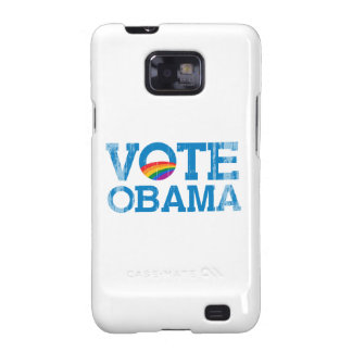 VOTE OBAMA Faded.png Samsung Galaxy S2 Case