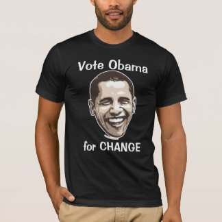 Vote Obama for Change T-Shirt