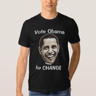 Vote Obama for Change Tee Shirts