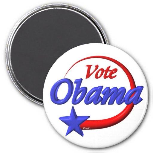Vote Obama in 2012. Create the future Fridge Magnet