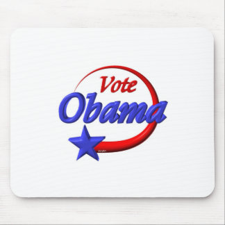 Vote Obama in 2012 Create the future Mouse Pads
