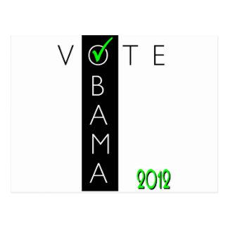 VOTE OBAMA jpg Post Card