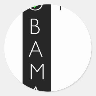 VOTE OBAMA.jpg Classic Round Sticker