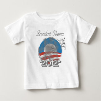 vote obama logo - image - 2012 baby T-Shirt