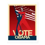 Vote Obama Postcard