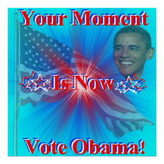 Vote Obama Print