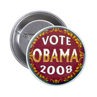 Vote Obama Retro Button