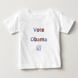 Vote Obama Retro Style 1 Baby T-Shirt