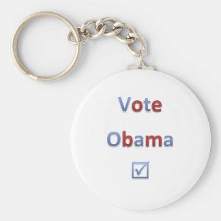 Vote Obama Retro Style 1 Key Ring