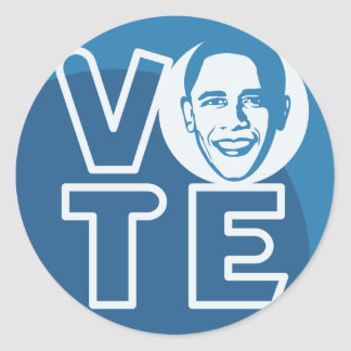 Vote Obama Sticker!