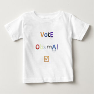 Vote Obama Style 2 Baby T-Shirt