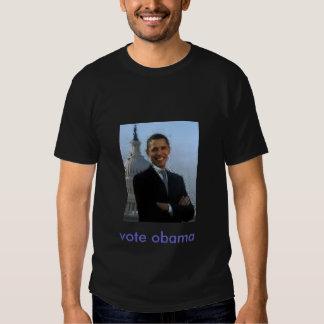 vote obama t shirt