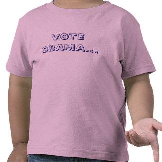 VOTE OBAMA... SHIRTS