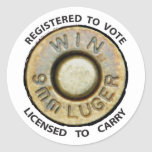 Vote or Carry Stickers