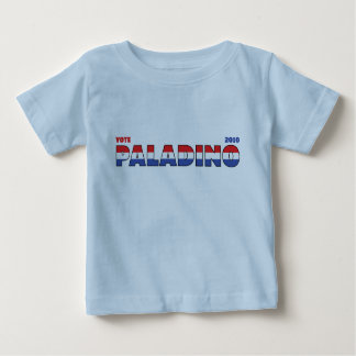 Vote Paladino 2010 Elections Red White and Blue Infant T-Shirt