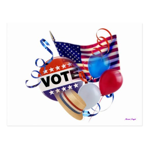 Vote Party Post Card