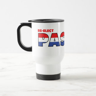 Vote Pastor 2010 Elections Red White and Blue Mug