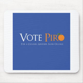 Vote Piro for Orange NJ Mouse Pad
