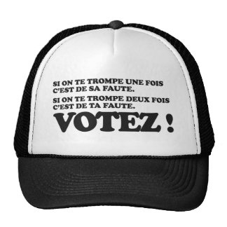 Vote! Presidential election 2012 Hat