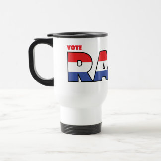 Vote Raby 2010 Elections Red White and Blue Mug