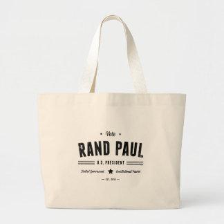 Vote Rand Paul 2016 Canvas Bags
