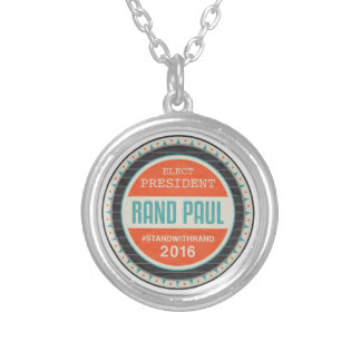 Vote Rand Paul 2016 Personalized Necklace