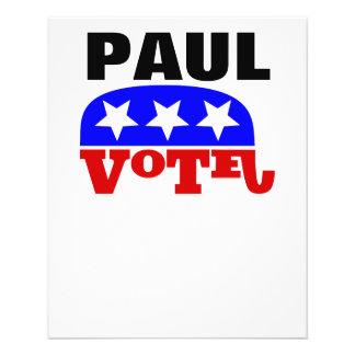 Vote Rand Paul Republican Elephant 11.5 Cm X 14 Cm Flyer