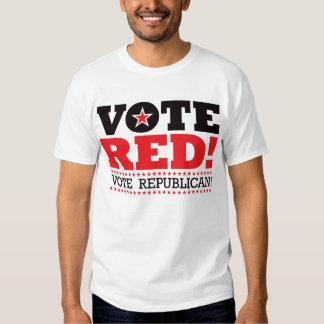 Vote Red! Vote Republican! T-shirts