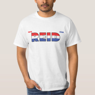 Vote Reid 2010 Elections Red White and Blue T-Shirt