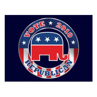 Vote Republican 2010 Custom Postcard